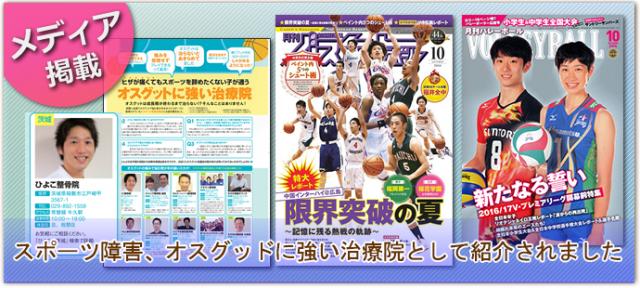 スポーツ紙の雑誌掲載